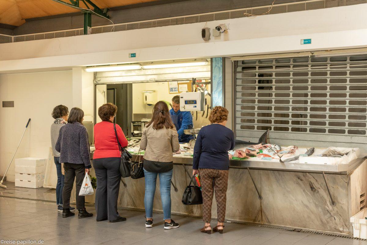 Fischhalle in Evora