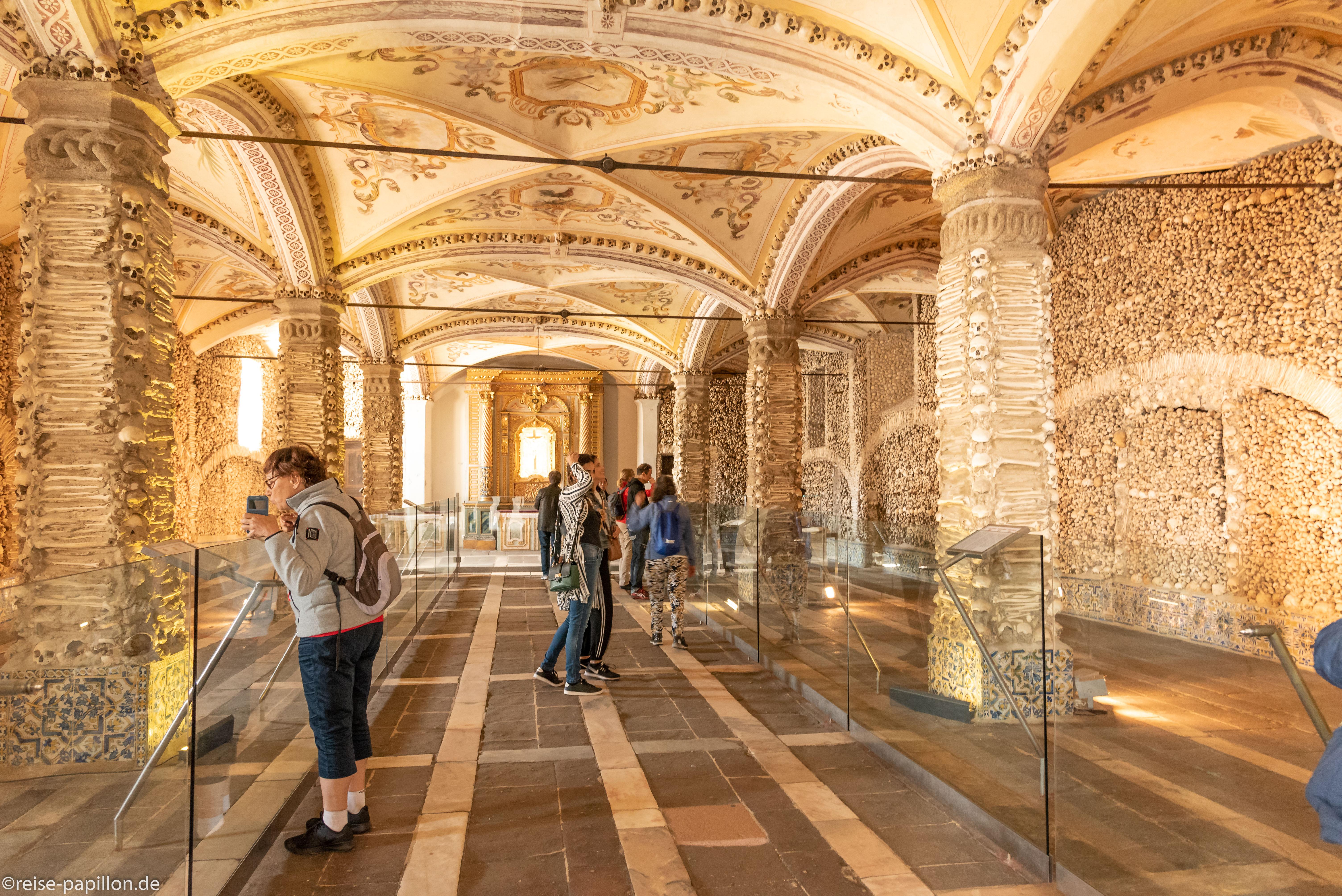 Knochenkapelle in Evora